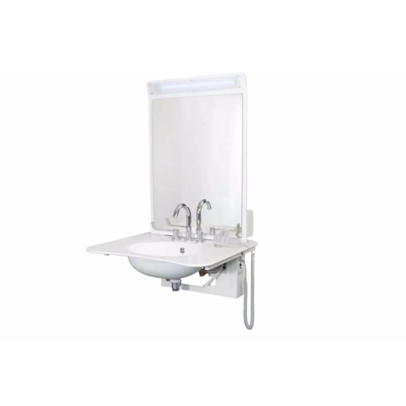 ABW6/AW6sp Height Adjustable Wash Basin   Astor-Bannerman
