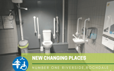 New Public Changing Places Accessible Toilet for Rochdale
