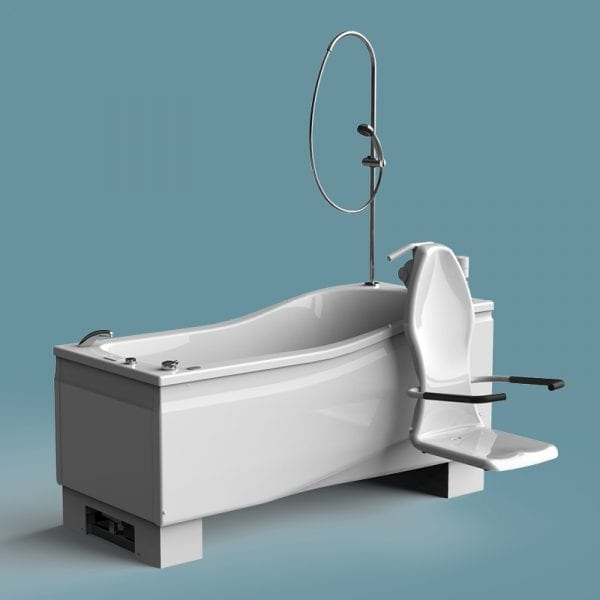 Compact Plus Height Adjustable Bath