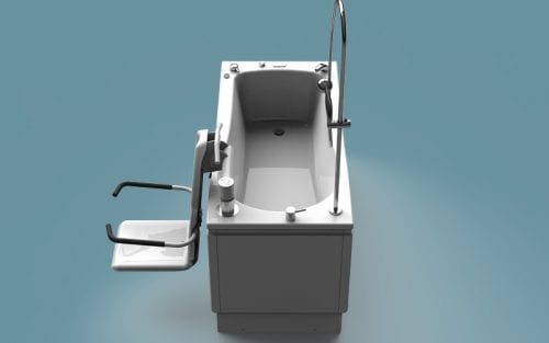 Compact Plus Height Adjustable Bath