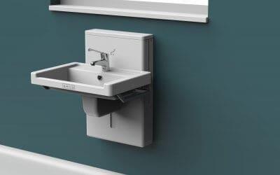 New Product: Astor Aquba – Height Adjustable Wash Basin