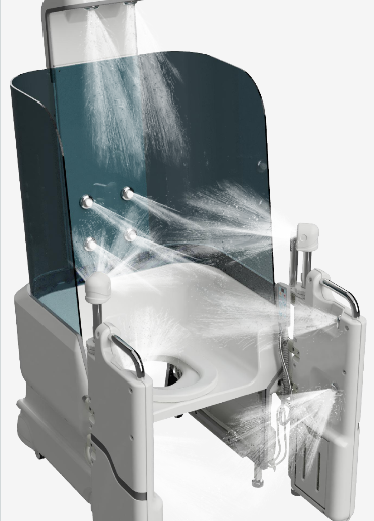 Seated Shower from Astor-Bannerman