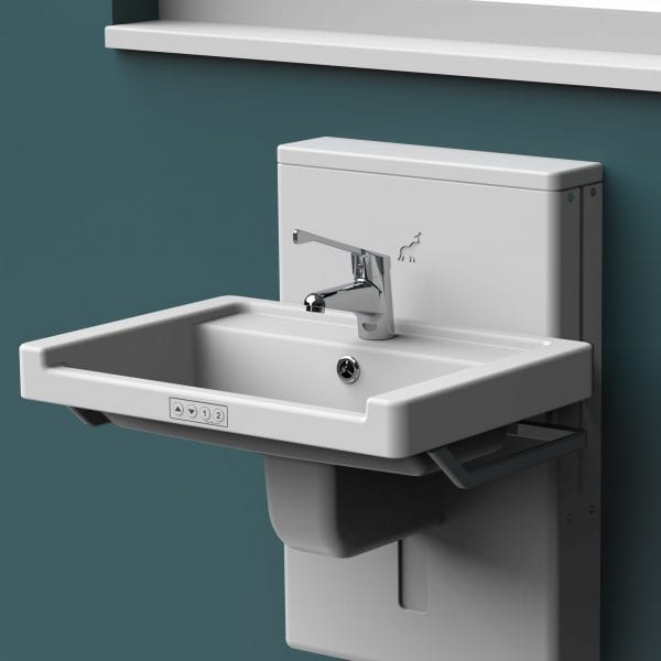 Astor Aquba Height Adjustable Wash Basin