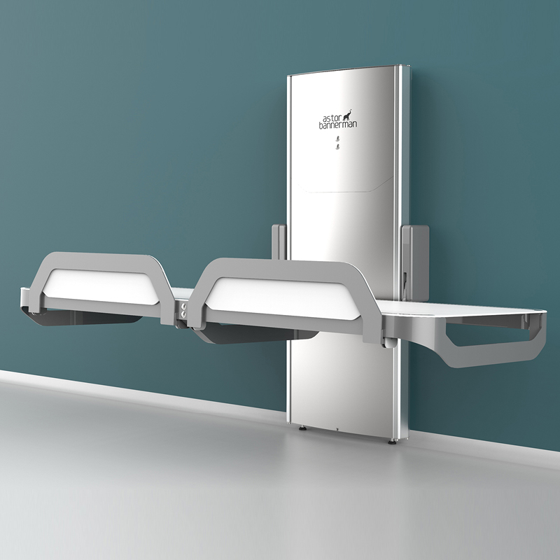 Astor Invincible - Height Adjustable Showering & Changing Table