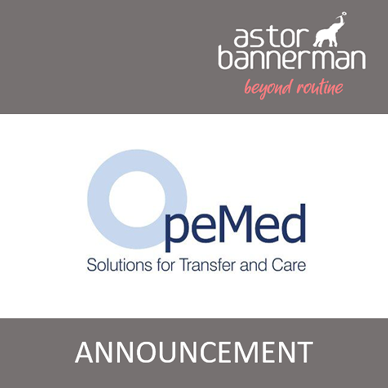 Astor Bannerman takes over the OpeMed brand and UK Operations