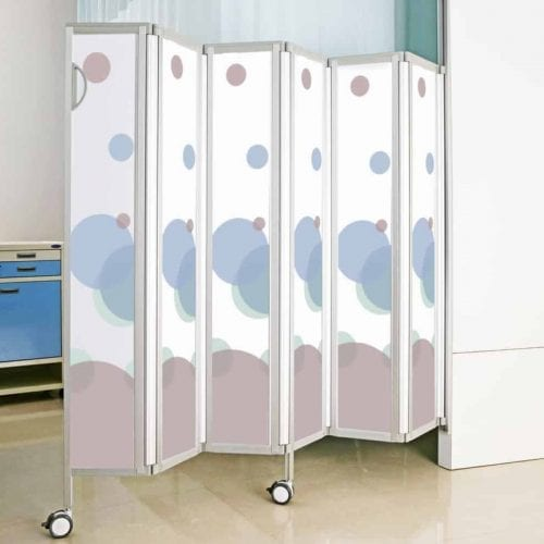 Astor Wall Mounted Privacy Screen for Changing Places Toilets