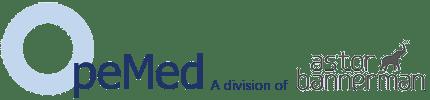 OpeMed Logo - Astor Bannerman