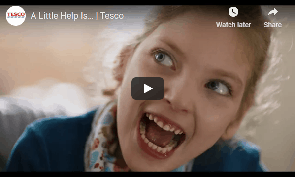Tesco raises the profile of the UK's Changing Place campaign with a national advertising campaign