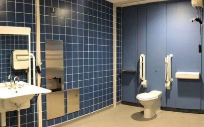 Euston Station opens a new Changing Places Toilet